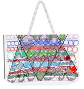 Abstract Pen Drawing Thirteen Weekender Tote Bag