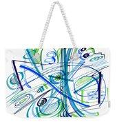 Abstract Pen Drawing Thirty-three Weekender Tote Bag