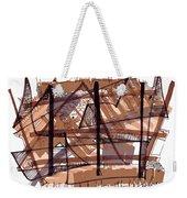Abstract Pen Drawing Twelve Weekender Tote Bag