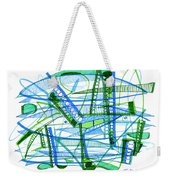 Abstract Pen Drawing Twenty-eight Weekender Tote Bag