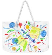 Abstract Pen Drawing Twenty-seven Weekender Tote Bag