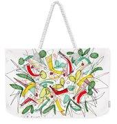 Abstract Pen Drawing Twenty-two Weekender Tote Bag