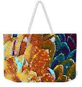 Abstract Petals Weekender Tote Bag