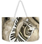 Piano Keys In A Saxophone 3 - Music In Motion Weekender Tote Bag