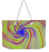 Abstract Pinwheel Weekender Tote Bag