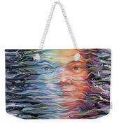 Abstract Portrait Weekender Tote Bag