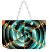 Abstract Radial Object Weekender Tote Bag