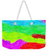 Abstract Rainbow Art By Adam Asar 3 Weekender Tote Bag