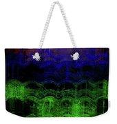 Abstract Rainbow Weekender Tote Bag