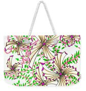 Abstract Red And Green Design #1 Weekender Tote Bag