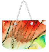 Abstract Red Art - The Promise - Sharon Cummings Weekender Tote Bag