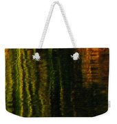 Abstract Reeds Triptych Bottom Weekender Tote Bag