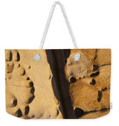 Abstract Rock With Diagonal Line Weekender Tote Bag