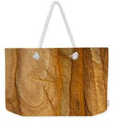 Abstract Rock With Lines And Rectangles Weekender Tote Bag