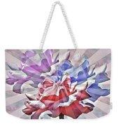 Abstract Roses Weekender Tote Bag