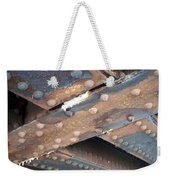 Abstract Rust 2 Weekender Tote Bag