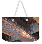 Abstract Rust 3 Weekender Tote Bag