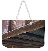 Abstract Rust 4 Weekender Tote Bag