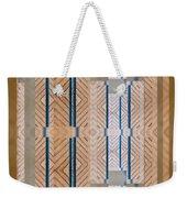 Wood And Blue Weekender Tote Bag