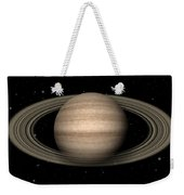 Abstract Saturn Weekender Tote Bag