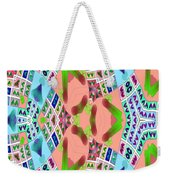 Abstract Seamless Pattern - Blue Pink Green Purple Weekender Tote Bag