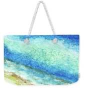 Abstract Seascape Beach Painting A1 Weekender Tote Bag