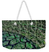 Abstract Shapes Stained Glass Weekender Tote Bag
