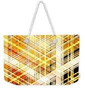 Abstract Shining Lines Weekender Tote Bag