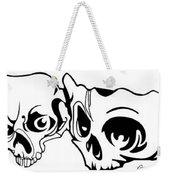 Abstract Skulls Weekender Tote Bag