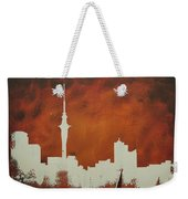 Abstract Skyline - Auckland Weekender Tote Bag