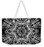 Abstract Snowfalke Weekender Tote Bag