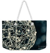 Abstract Sphere Weekender Tote Bag by Todd Blanchard
