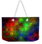 Square Bubbles Weekender Tote Bag