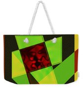 Abstract Squares And Angles Weekender Tote Bag