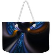 Abstract Stained Glass Angel Weekender Tote Bag