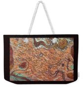 Abstract Style With A Black Border Weekender Tote Bag