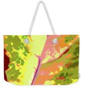 Abstract Summer's End Weekender Tote Bag