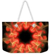 Orange Sun 3 Weekender Tote Bag