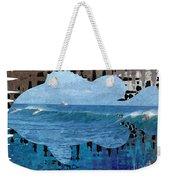 Abstract Surf Weekender Tote Bag