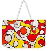 Abstract Swirls Weekender Tote Bag