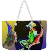 Abstract Tarot Card The Lovers Weekender Tote Bag