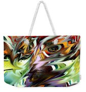 Abstract Thought Weekender Tote Bag