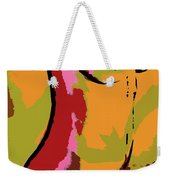 Abstract Torso Weekender Tote Bag