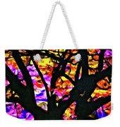 Abstract Tree 304 Weekender Tote Bag