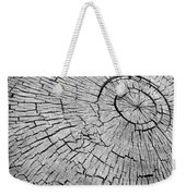 Abstract Tree Cut Weekender Tote Bag