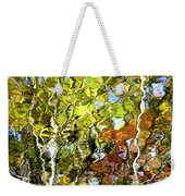 Abstract Tree Reflection Weekender Tote Bag