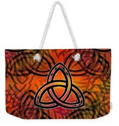 Abstract - Trinity Weekender Tote Bag