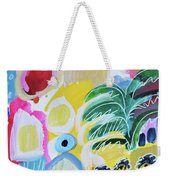 Abstract Tropical Landscape Weekender Tote Bag
