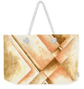 Abstract Unique Original Painting Contemporary Art Champagne Dreams I By Madart Weekender Tote Bag