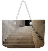 Abstract View Of Stone Curved Staircase At The World War I Monum Weekender Tote Bag
